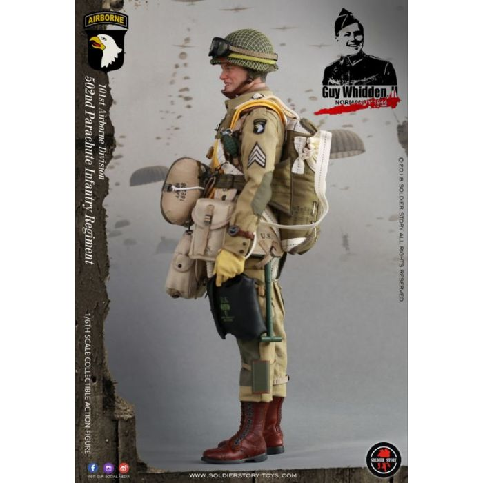 SOLDIER STORY Gloves WWII 101 AIRBORNE GUY WHIDDEN 1//6 ACTION FIGURE TOYS did