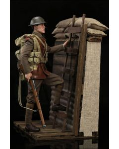 William + WW1 Trench Diorama